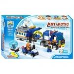 Конструктор Арктика, машина с прицепом