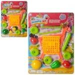 Продукты игрушечные в тележке