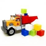 Машинка Фарго с 12 кубиками