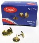 Кнопки EagleTY61 золотые