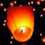 """Небесный фонарик """"Купол"""" (цвет в ассортименте)"""