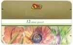 Карандаши 12 цветов Elegance