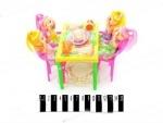 Столик с куклами