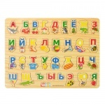 Деревянная игрушка Алфавит