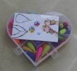 """Бижутерия """"Pop arty"""" в коробке сердце"""