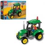 Конструктор Брик трактор на ферме