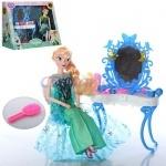 Мебель трюмо для кукол с куклой