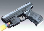 Пистолет игровой с лазерным прицелом