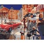 Картины по номерам «Городской гламур»