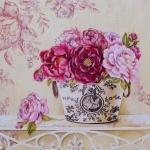 """Картина по номерам """"Английские розы"""""""