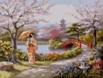 """Картина по номерам """"Нарисованный рай"""""""