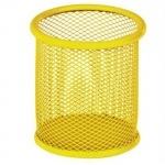Підставка для ручок кругла, жовтий