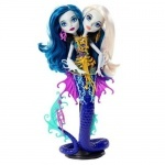 Кукла Monster High Близнецы-Змейки из м/ф Большой монстровый риф - оригинал
