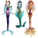 Кукла Monster High Монстро-рыбка из м/ф Большой монстровый риф - оригинал