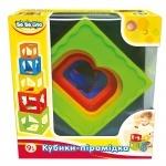 Кубики-пирамидка