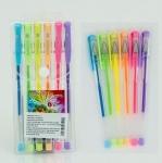 Набор шариковых ручек цветные - 6 цветов