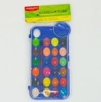 Краски акварельные для рисования, 24 цветов