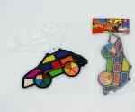 """Краски акварельные для рисования, 18 цветов """"Машинка"""""""