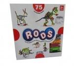 Необычный 3-D конструктор «RODS»