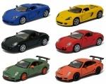 Коллекционная машинка Matte Porsche (3 модели в ассортименте)