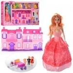 Домик для кукол с асессуарами