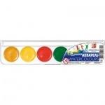 Фарба акварельна медова Класика 6 кольорів