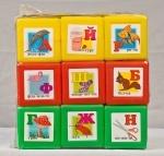 """Кубики с картинками """"Абетка"""""""