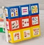 """Кубики с картинками """"Математика"""""""