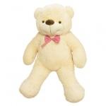 Мягкая игрушка медведь Бо молочный