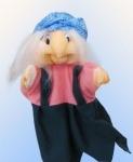 Кукла-рукавичка Баба Яга