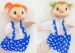 Кукла-рукавичка Девочка