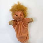 Кукла-рукавичка Ежик