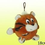 Мягкая игрушка Тигр круглый маленький