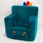 Стульчик-кресло бирюзовый