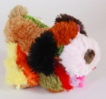 Собачка, цветная лежачая, 23см