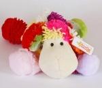 Мягкая игрушка Овца цветная, 40см