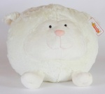 Мягкая игрушка Овца круглая, 38см
