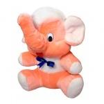 Мягкая игрушка Мамонт Федя персиковый, 60см