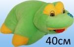 Подушка трансформер лягушка