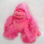 Игрушка мягкая Горилла, розовая, 70см