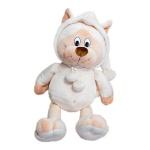 Мягкая игрушка Кот в капюшоне, 45см