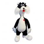 Мягкая игрушка Кот Сильвестр, средний, 75см