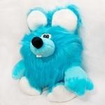 Мягкая игрушка Зюзюка голубая, 80см