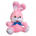 Заяц Степашка, малый, розовый