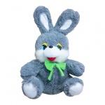 Заяц Степашка, средний, серый