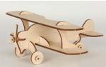 Сборная деревянная модель кукурузник маленький