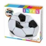 Надувное кресло футбольный мяч Intex