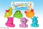 Набор игрушек для ванной - животные
