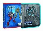 Папка для тетрадей Robots В5, картонная