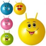 Мяч для фитнеса с рожками Смайл